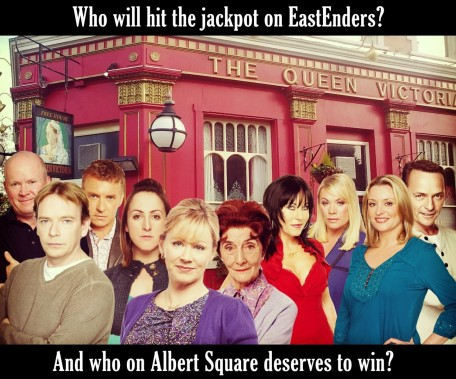 Eastenders Lottery All Characters