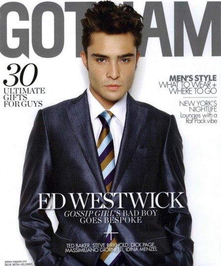 Ed Westwick Shared Picture