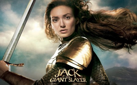 Wallpaper Eleanor Tomlinson In Jack The Giant Slayer Wallpaper
