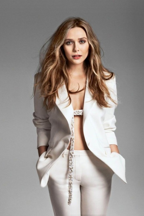 Elizabeth Olsen At Marie Claire Magazine May Hot