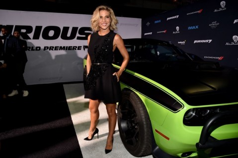 Elsa Pataky Attends The Furious Premiere In Hollywood