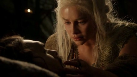 Dany Emilia Clarke And Drogo Jason Mamoa In Got