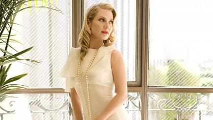 Emily Procter Looking Beautiful In This Dress Friends