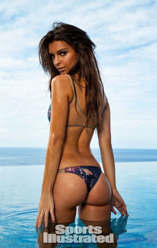 Emily Ratajkowski For Sports Illustrated Swimsuit Edition Treats