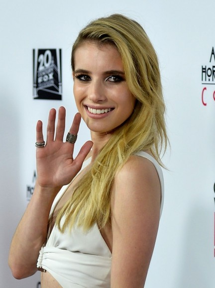 Emma Roberts At Fx American Horror Story Premiere American Horror Story