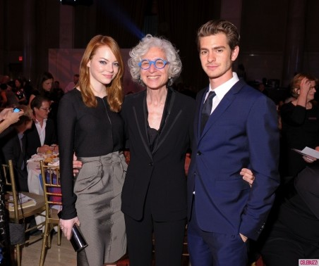 Emma Stone Andrew Garfield Attend Worldwide Orphans Foundations Th Annual Benefit Gala In New York City And Andrew Garfield