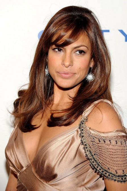 Beautiful Eva Mendes Hairstyle Hair