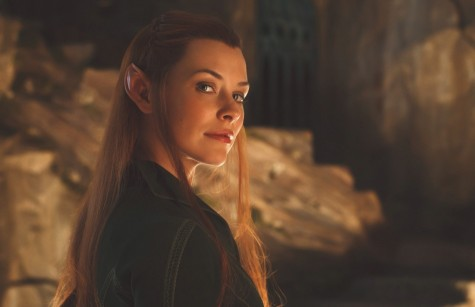 Evangeline Lilly As Tauriel In Hobbit Hd Desktop Wallpapers