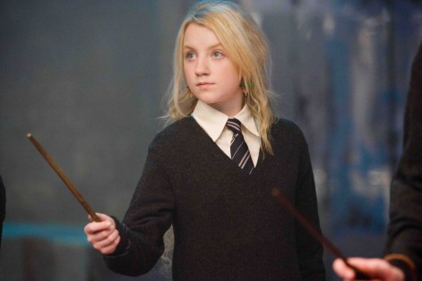 Evanna Lynch As Luna Lovegood In Warner Bros Pictures Fantasy Harry Potter And The Order Of The Phoenix Photo By Murray Close Wallpaper