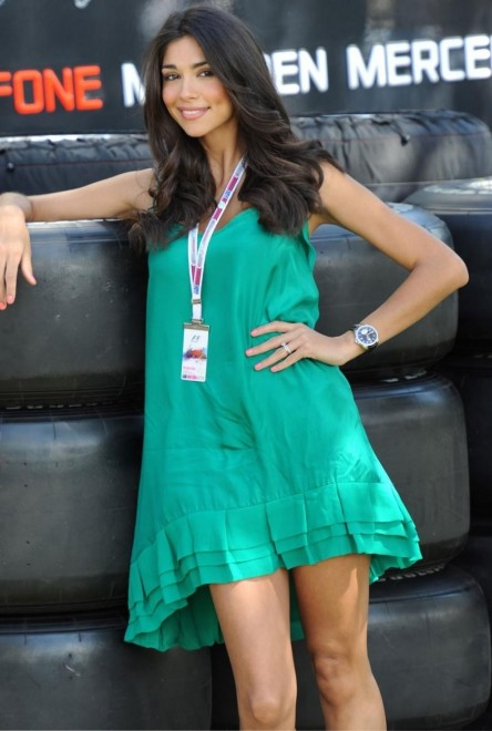 F1 Pit Girls Shared Photo Russia