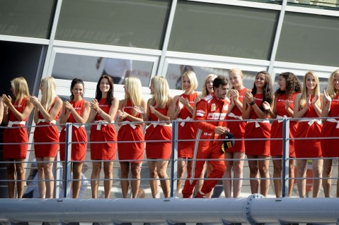 Fansitecom Grid Pit Girls Wallpaper
