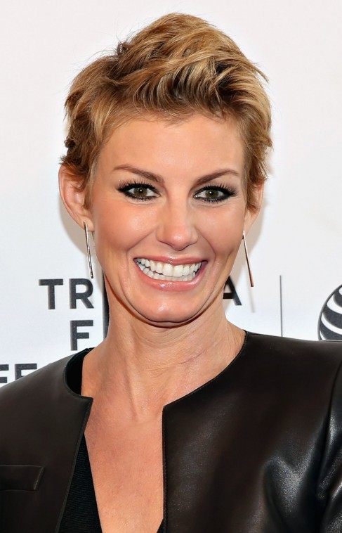 Faith Hill Attends The Dixieland Premiere In New York City