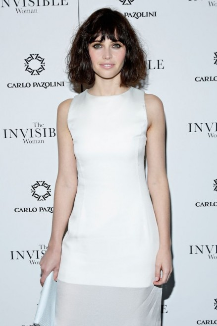 Felicity Jones At The Invisible Woman Premiere In Nyc
