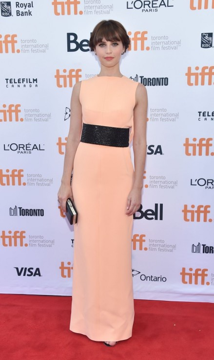 Felicity Jones At The Theory Of Everything Premiere At Toronto Film Festival