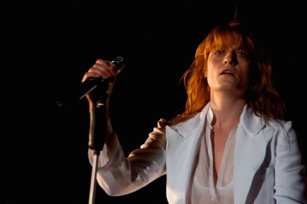 Florence The Machine At Coachella By Johnny Firecloud
