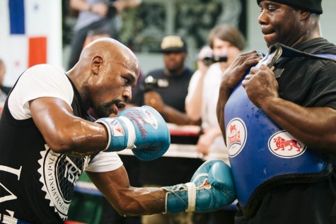 Floyd Mayweather Esther Lin Showtime