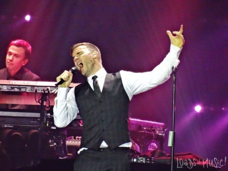 Gary Barlow London Title