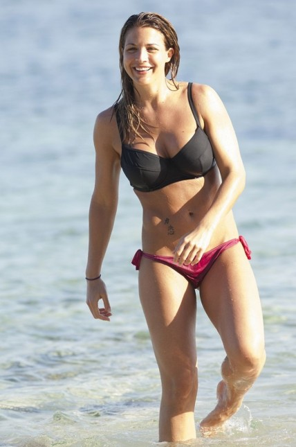 Gemma Atkinson On Holiday In Bali Indonesia June Holiday