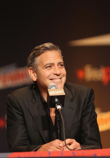 George Clooney At Event Of Tomorrowland Large Picture