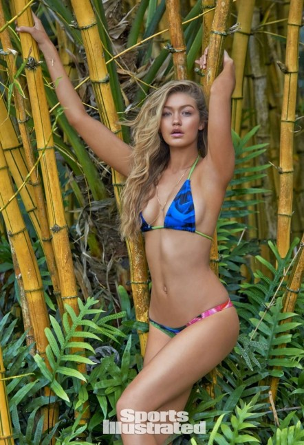 Gigi Hadid Si Swimsuit Issue Bikini
