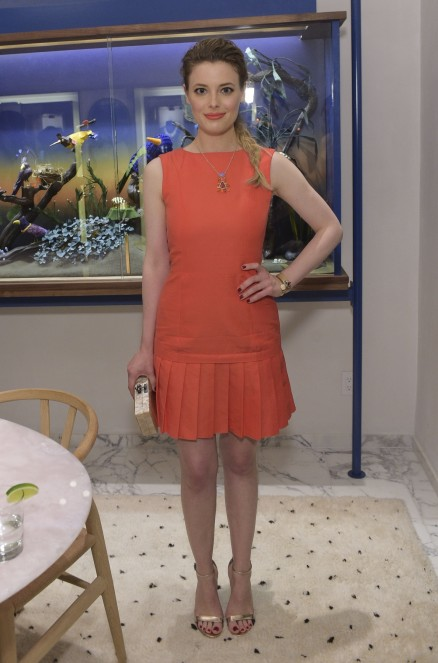 Gillian Jacobs Attends The Irene Neuwirth Flagship Grand Opening