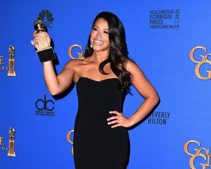Gina Rodriguez Golden Globe Win Golden Globes