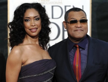 Laurence Fishburne And Gina Torres Hd Wallpaper For Desktop Background