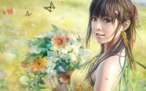 Free Cg Beautiful Girl Wallpaper Ibackgroundzcom Wallpaper