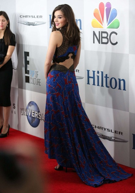 Hailee Steinfeld Nbcuniversal Golden Globes Party