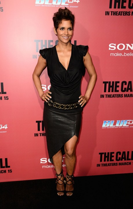 Halle Berry At The Call Premiere In Hollywood