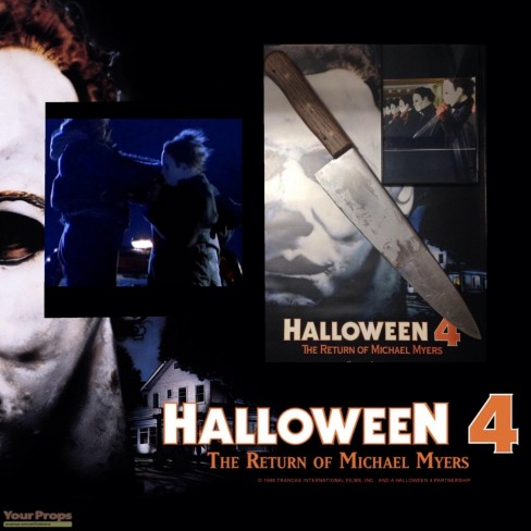 Halloween The Return Of Michael Myers Michael Myers Retractible Knife Movie