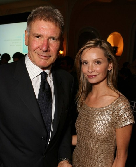 Harrison Ford Calista Flockhart And Calista Flockhart
