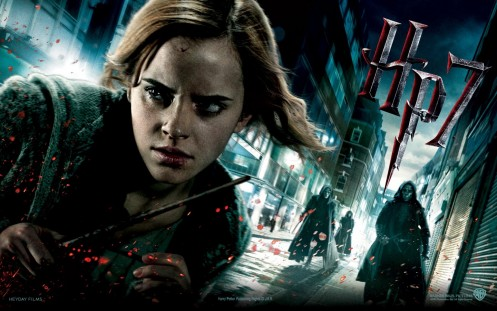 Emma Watson In Harry Potter And The Deat Hallows Part Wallpaper Movie