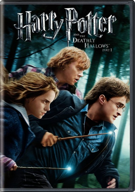 Harry Potter And The Deat Hallows Part Dvd Cover Movie