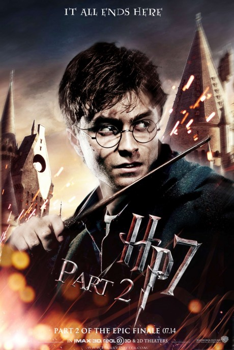 Harry Potter Dhp Poster Movie