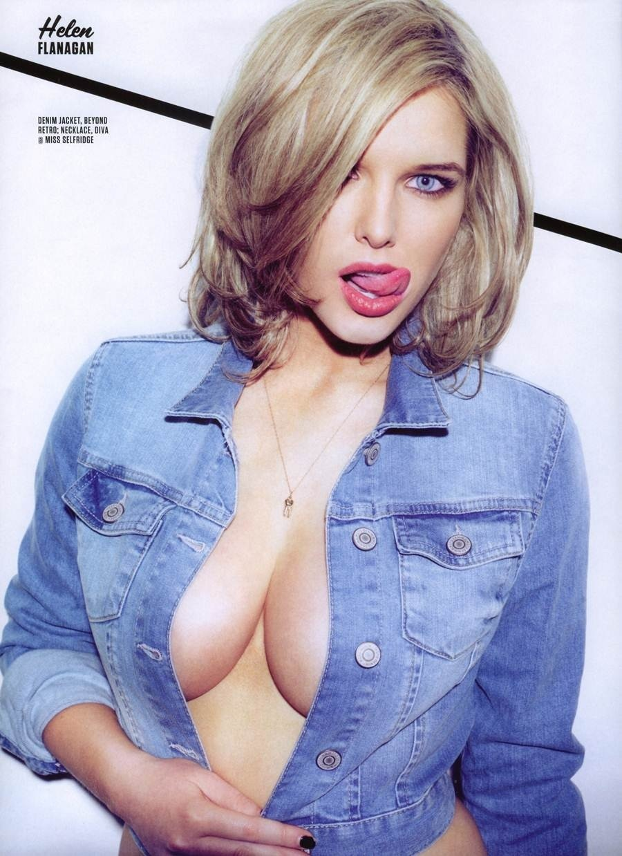 Helen Flanagan Fhm Uk