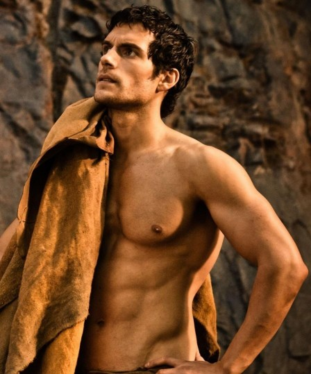 Henry Cavill Shirtless Ripped Six Pack Abs Body Transformation