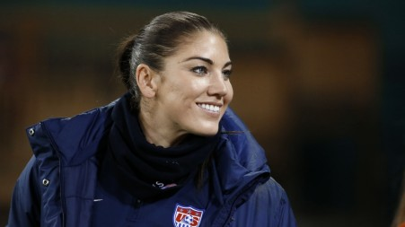 Hope Solo Assault