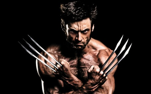 Hugh Jackman Muscles Claws In The Wolverine