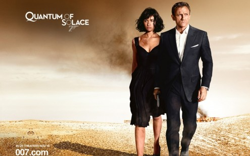 James Bond Quantum Of Solace Wallpaper James Bond Movies Wallpaper Widescreen Wallpaper