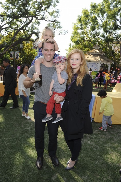 James Van Der Beek And Family Family