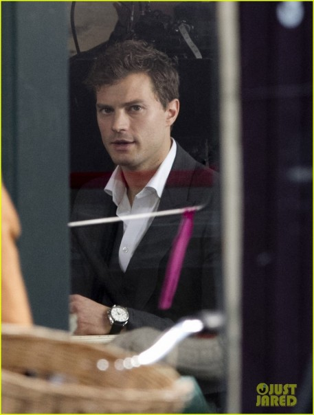 Jamie Dornan Filming Fifty Shades Of Grey First Photos On Set Shades Of Grey