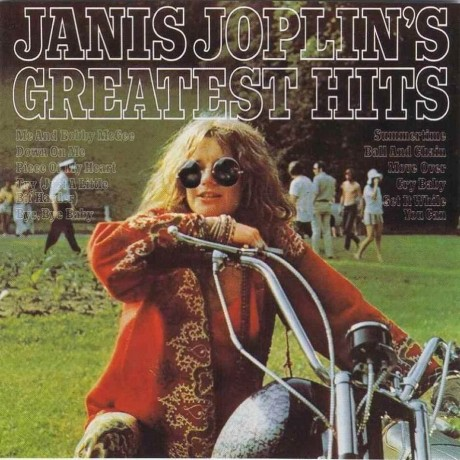 Janis Joplin Greatest Hits Front Quotes