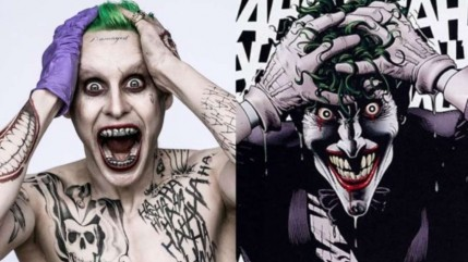 Joker Killing Joke Jared Leto
