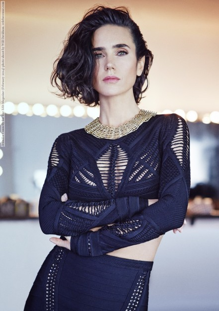Jennifer Connelly For The Edit Magazine February Photo Shoot By Will Davidson