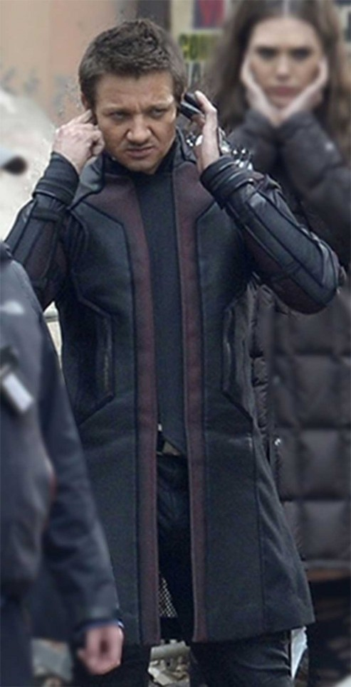 Avengers Age Of Ultron Jeremy Renner Jacket