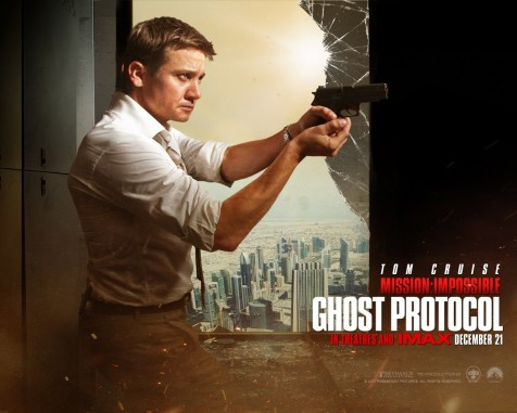 Jeremy Renner In Mission Impossible Ghost Protocol Wallpaper Desktop Wallpaper