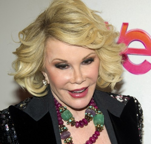 Joan Rivers Looking Down Ap