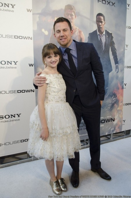 Dc Premiere Joey King And Channing Tatum And Channing Tatum