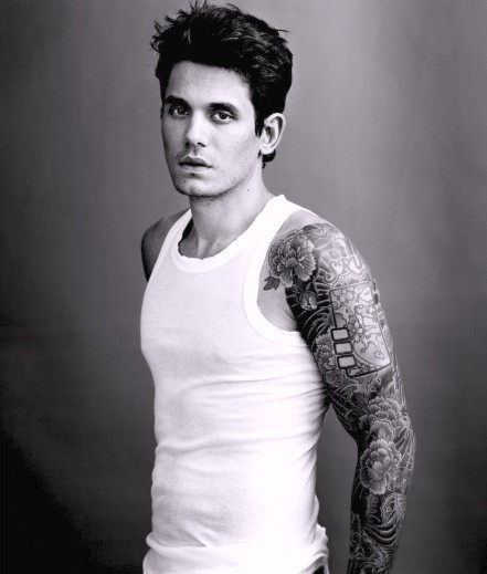 John Mayer Tattoos Pictures Album
